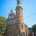 Klaryski Church in Bydgoszcz, Poland by Elzbieta Fazel