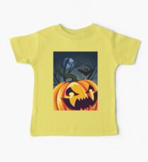 Halloween Pumpkin in the Forest 2 Baby Tee