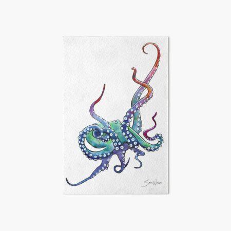 Rainbow Octopus Art Board Print