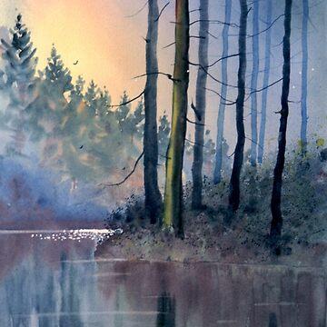 Lake Tranquility by GlennMarshall
