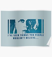 I've seen things... Poster