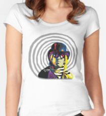 Tom Petty - Mad Hatter Women's Fitted Scoop T-Shirt
