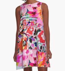 tracy porter/ orient A-Line Dress