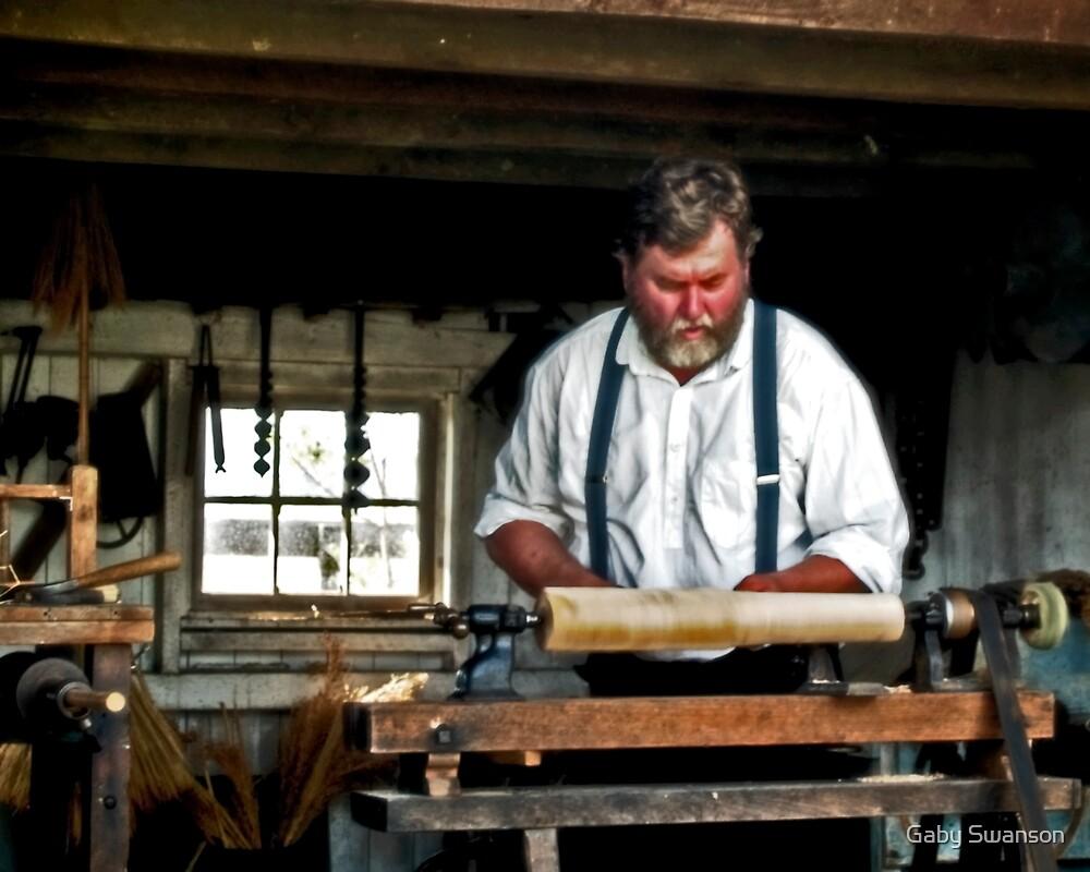 Working with wood by Gabi Swanson