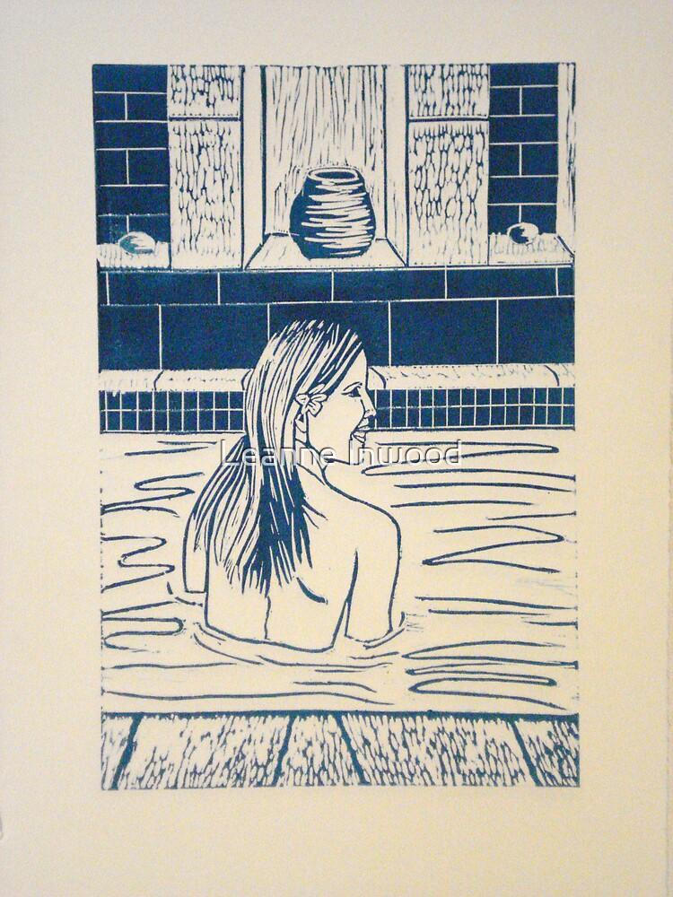 bathing 2 by Leanne Inwood