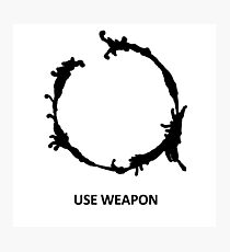 Use Weapon Photographic Print