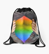 I'm Coming Out! Drawstring Bag