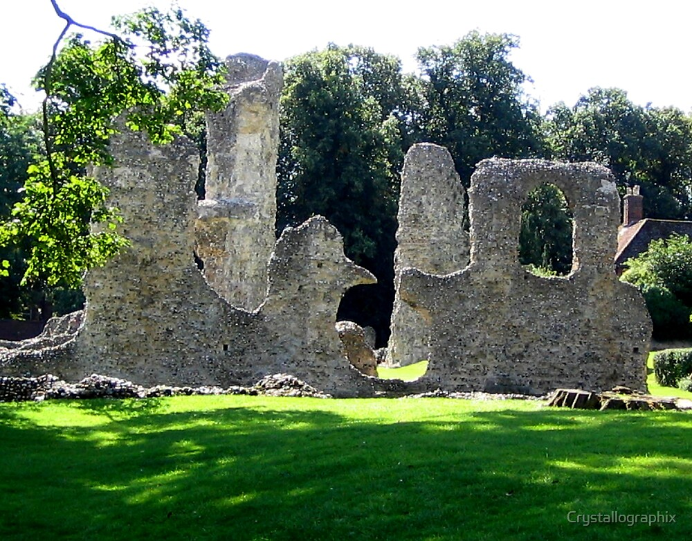 Memories of Suffolk - Abbey Ruins by Crystallographix