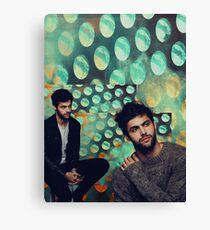 Matthew Daddario poka dots Canvas Print