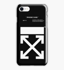 OFF WHITE IPHONE CASE (High resolution) iPhone Case/Skin