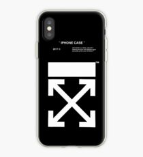 OFF WHITE IPHONE CASE (High resolution) iPhone Case