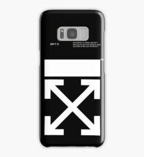 OFF WHITE IPHONE CASE (High resolution) Samsung Galaxy Case/Skin