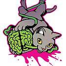 Brain Kitty by Tinctorium