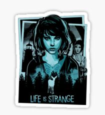 Life is strange - Max collage  Sticker
