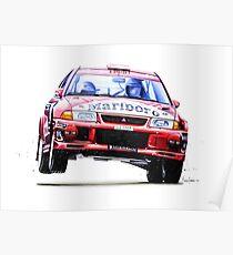 Tommi Makkinen's Mitsubishi Lancer Evolution 6 (Prints and Mugs) Poster