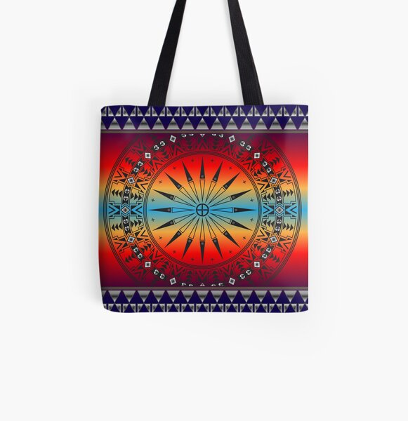 Morning Sky All Over Print Tote Bag