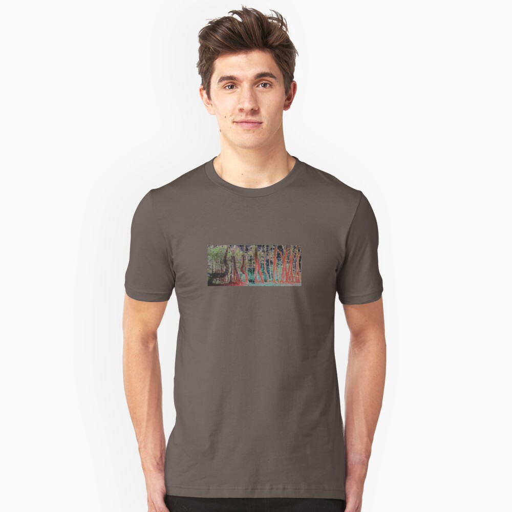 STARRY TREE LINE Unisex T-Shirt Front