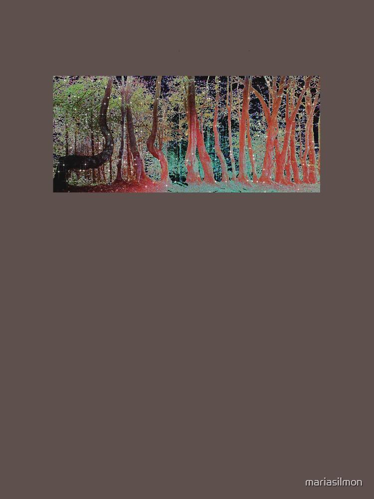 STARRY TREE LINE by mariasilmon