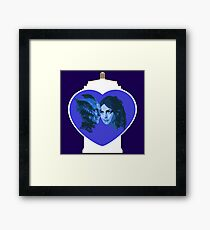 VALENTINE LOVE Framed Print