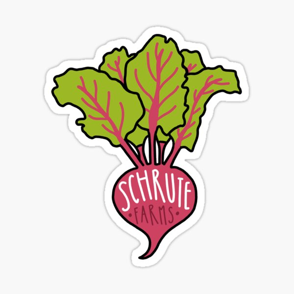 Schrute Farms Sticker