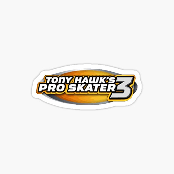 Tony Hawk Pro Skater 3 Logo Sticker