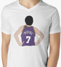 """Pistol"" Pete Maravich Men's V-Neck T-Shirt"