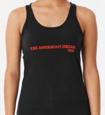 Der amerikanische Traum 1931 Racerback Tank Top
