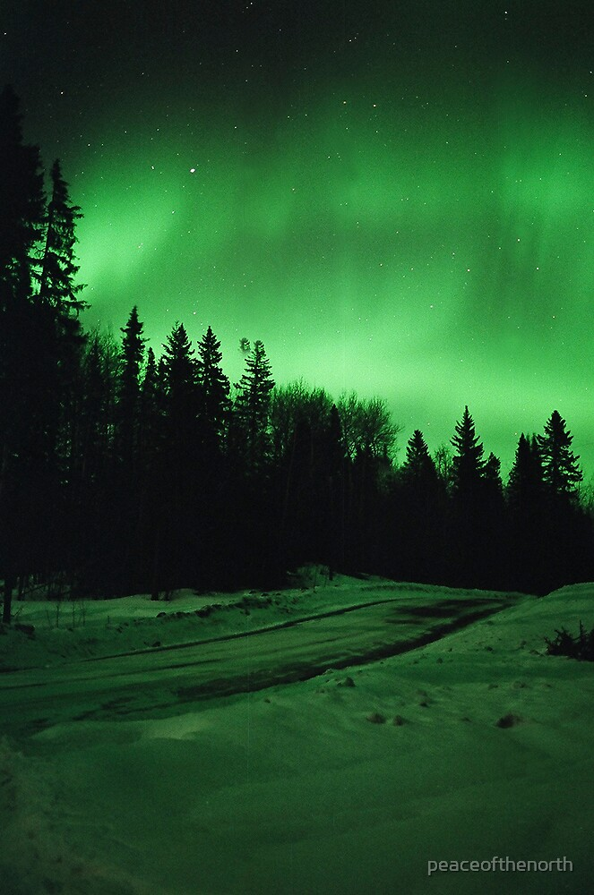 Aurora Road by peaceofthenorth