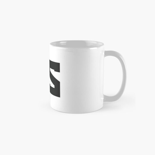 Red Scare Black on White Classic Mug