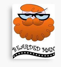 Bearded man - El laboratorio de Dexter Canvas Print