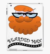 Bearded man - El laboratorio de Dexter iPad Case/Skin