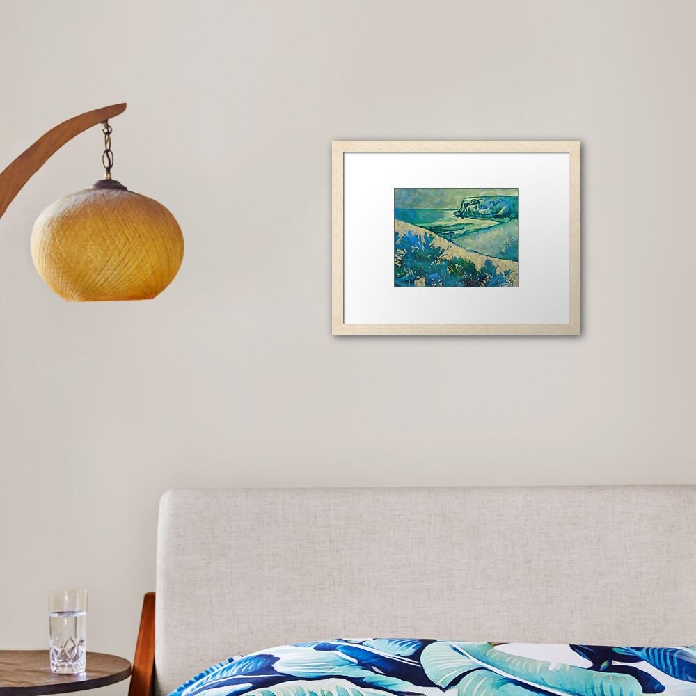 Headland at Boulder's Beach Framed Art Print