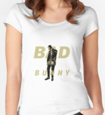 Bad Bunny El Conejo Malo Women's Fitted Scoop T-Shirt