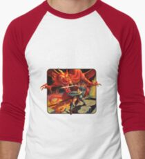 Dungeons and Dragons Red Box (Remastered) Men's Baseball ¾ T-Shirt