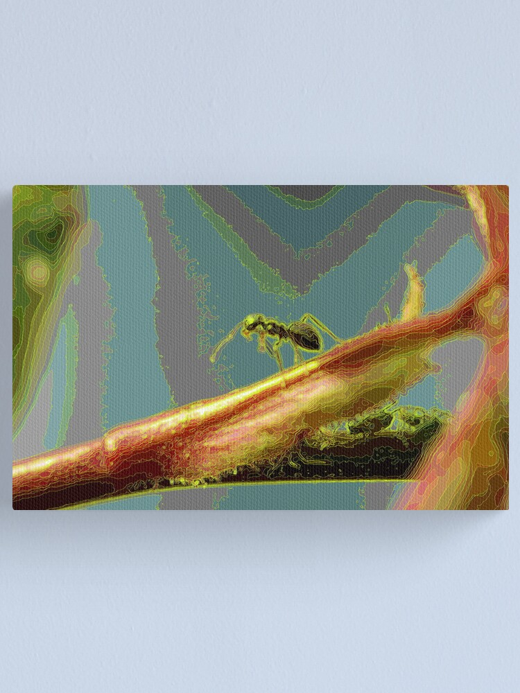 Alternate view of Alien Canvas Print