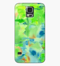 In the Forest in Spring Abstract Watercolor Collage Case/Skin for Samsung Galaxy