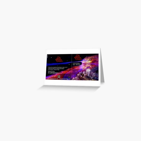 CD Sleeve -Galaxy Greeting Card