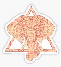 Elephant Delta Triangle Sticker