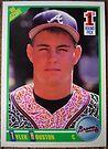 210 - Tyler Houston by Foob's Baseball Cards
