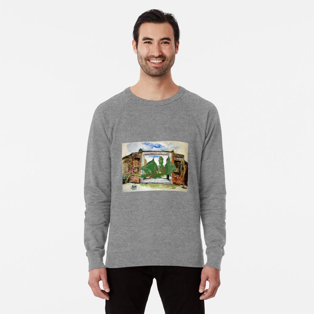 Dragon In Pompeii Lightweight Sweatshirt
