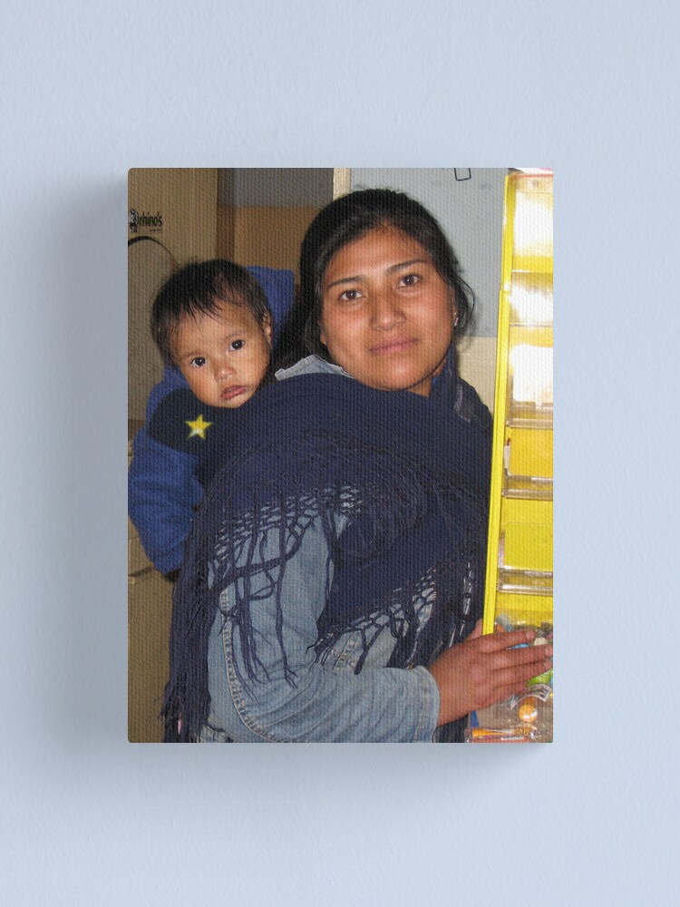 Alternate view of Mother and Child Canvas Print