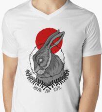 HEAR NO EVIL - STRAWBERRY Men's V-Neck T-Shirt