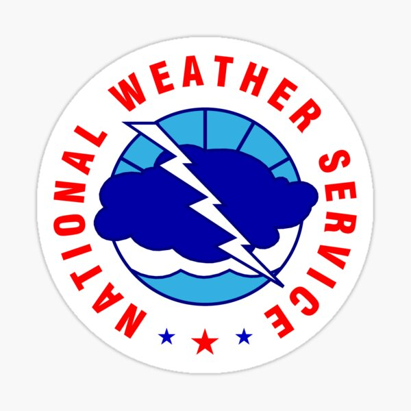 National Weather Service Sticker