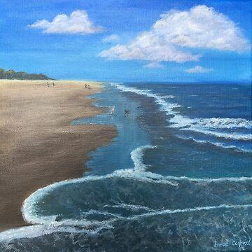 Beach Fun by ArtbyDedeConrad
