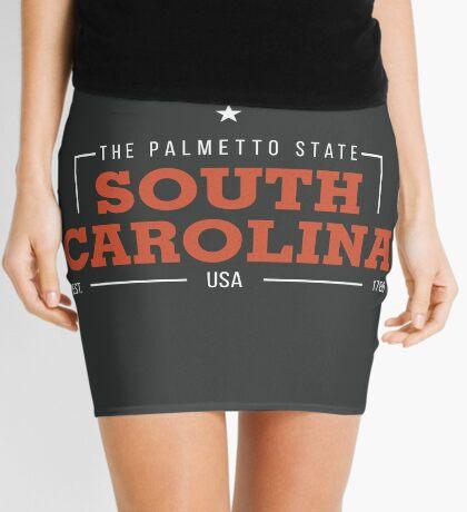 South Carolina American States Badge Design Mini Skirt