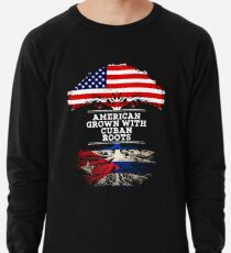 b41bf9f7 Gift For Cuban American Grown With Cuban Roots Cuba T-Shirt Sweater Hoodie  Iphone Samsung