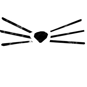 Cat whiskers by LandOfMadDesign
