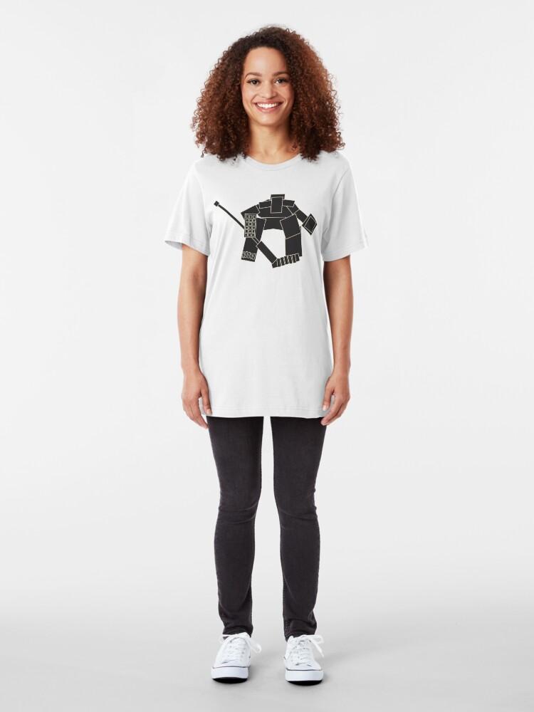 Alternate view of Goaltender Slim Fit T-Shirt