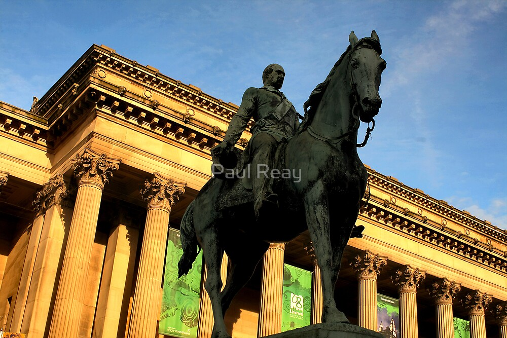Prince Albert on horseback by Paul Reay