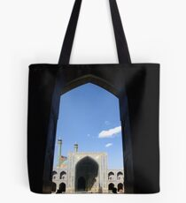 Esfahan Mosque Tote Bag